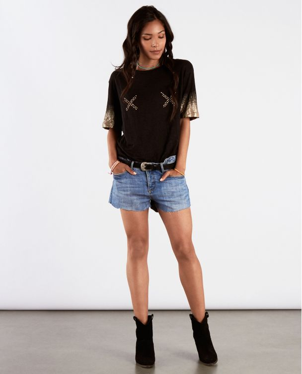 Tee Light Básica Grey Camiseta Boyfriend dqwnZyKc0d