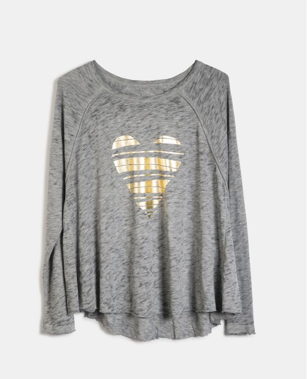Oversize Long Sleeve T-shirt