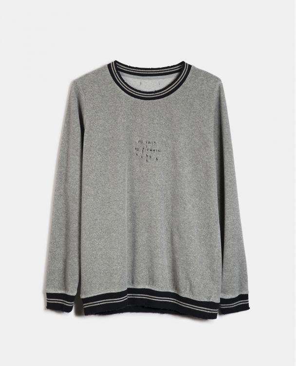 University sweatshirt