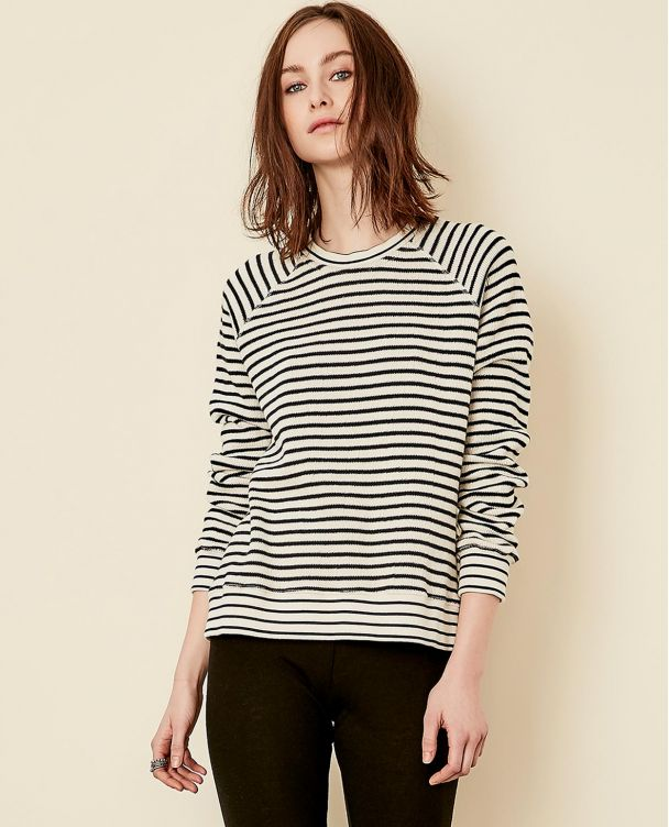 Sweatshirt with Raglan Sleeves