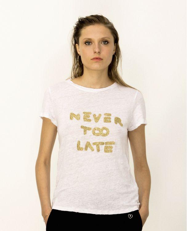 Camiseta Básica de Lino